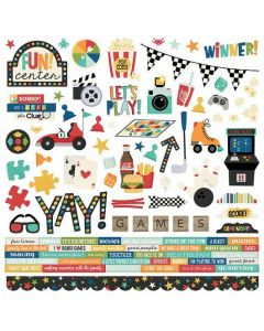 Family Fun Cardstock Stickers - Simple Stories