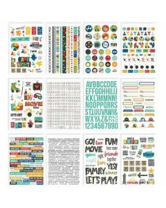 Family Fun Sticker Book - Simple Stories
