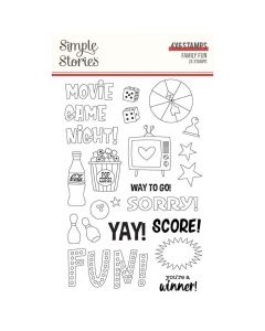Family Fun Stamps - Simple Stories