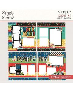 Family Fun Page Kit - Simple Pages - Simple Stories