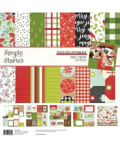 Make it Merry Collection Kit - Simple Stories