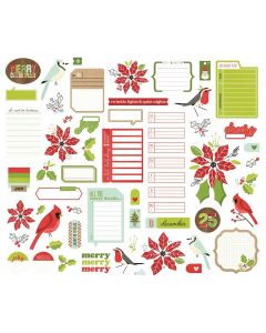 Make it Merry Journal Bits - Simple Stories