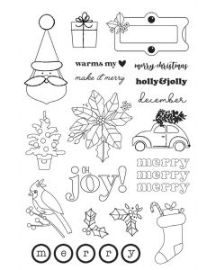 Make it Merry Stamps - Simple Stories