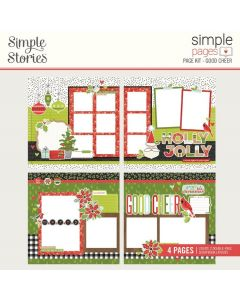 Good Cheer Simple Pages Kit - Make it Merry - Simple Stories