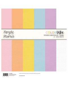 Spring Textured Cardstock Kit - Color Vibe - Simple Stories