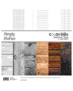Woods Cardstock Kit - Color Vibe - Simple Stories