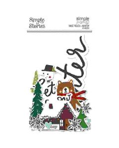 Winter Page Pieces - Simple Pages - Simple Stories*