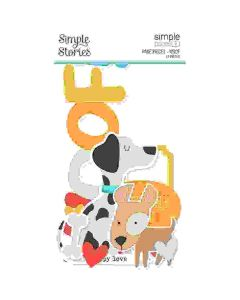 Woof Page Pieces - Simple Pages - Simple Stories*