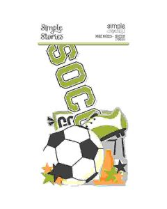 Soccer Page Pieces - Simple Pages - Simple Stories*