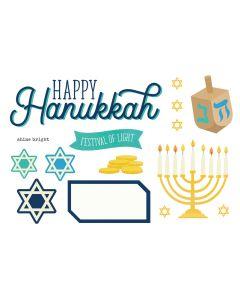 Happy Hanukkah Simple Pages Pieces - Simple Stories