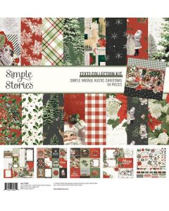 Simple Vintage Rustic Christmas Collection Kit - Simple Stories