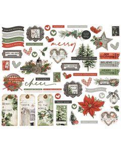 Simple Vintage Rustic Christmas Bits & Pieces - Simple Stories