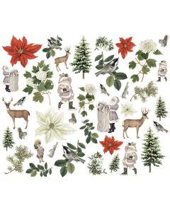 Woodland Bits & Pieces - Simple Vintage Rustic Christmas - Simple Stories
