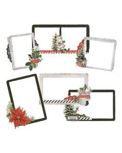 Simple Vintage Rustic Christmas Chipboard Frames - Simple Stories