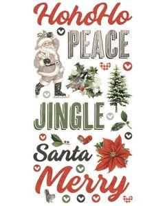 Simple Vintage Rustic Christmas Foam Stickers - Simple Stories