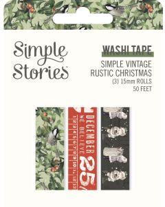 Simple Vintage Rustic Christmas Washi Tape - Simple Stories