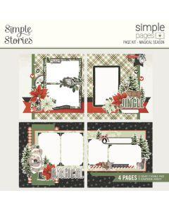 Magical Season Simple Pages Kit - Simple Vintage Rustic Christmas - Simple Stories