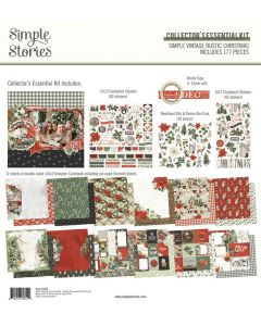 Simple Vintage Rustic Christmas Collector's Essential Kit - Simple Stories