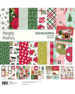 Holly Days Collection Kit - Simple Stories