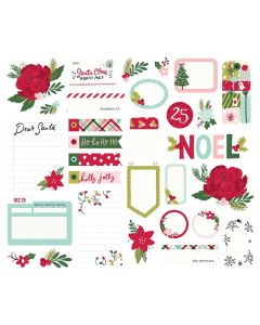 Holly Days Journal Bits - Simple Stories