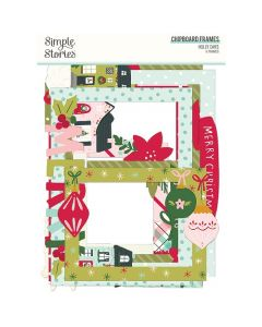 Holly Days Chipboard Frames - Simple Stories