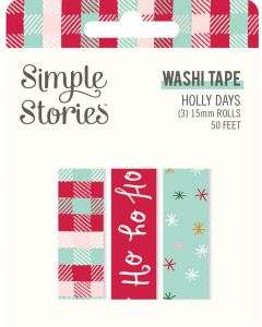 Holly Days Washi Tape - Simple Stories