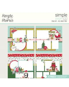 Oh, What Fun! Simple Pages Kit - Holly Days - Simple Stories