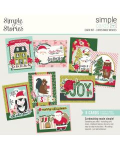 Christmas Wishes Simple Card Kit - Holly Days - Simple Stories