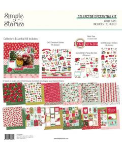Holly Days Collector's Essential Kit - Simple Stories
