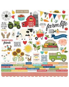 Homegrown Cardstock Stickers - Simple Stories
