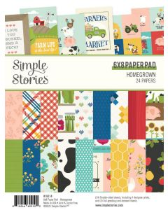 """Homegrown 6"""" x 8"""" Pad - Simple Stories"""