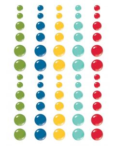 Homegrown Enamel Dots - Simple Stories