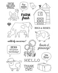 Homegrown Stamps - Simple Stories