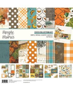 Simple Vintage Country Harvest Collection Kit - Simple Stories
