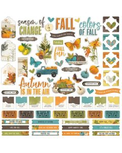 Simple Vintage Country Harvest Cardstock Stickers - Simple Stories