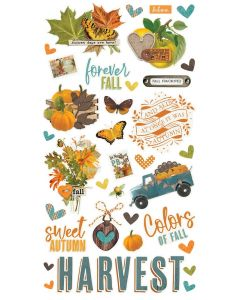 Simple Vintage Country Harvest Chipboard - Simple Stories