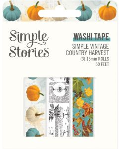 Simple Vintage Country Harvest Washi Tape - Simple Stories