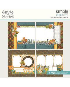 Autumn Harvest Simple Pages Kit - Simple Vintage Country Harvest - Simple Stories