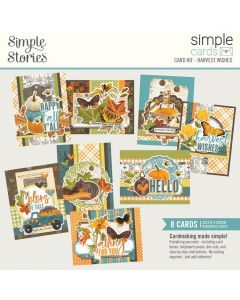 Harvest Wishes Simple Card Kit - Simple Vintage Country Harvest - Simple Stories