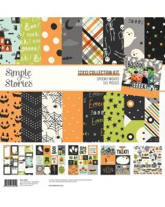 Spooky Nights Collection Kit - Simple Stories