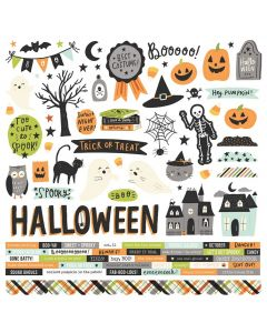 Spooky Nights Cardstock Stickers - Simple Stories