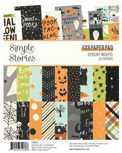 "Spooky Nights 6"" x 8"" Pad - Simple Stories"