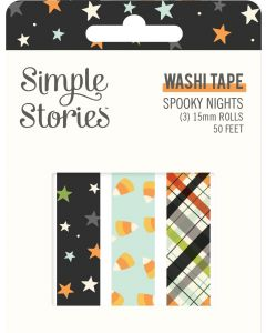 Spooky Nights Washi Tape - Simple Stories