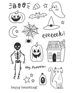 Spooky Nights Stamps - Simple Stories