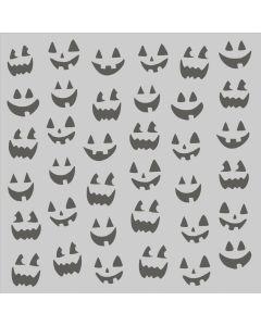 Jack-O-Lanterns Stencil - Spooky Nights - Simple Stories