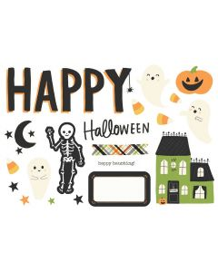 Happy Halloween Simple Pages Pieces - Spooky Nights - Simple Stories