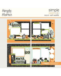 Happy Haunting Simple Pages Kit - Spooky Nights - Simple Stories