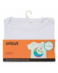0-3 Month Baby Body Suit - Infusible Ink - Cricut