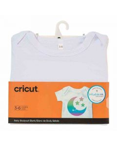 3-6 Month Baby Body Suit - Infusible Ink - Cricut