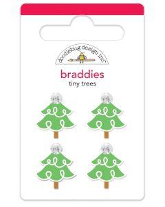 Tiny Trees Braddies - Christmas Magic - Doodlebug Design